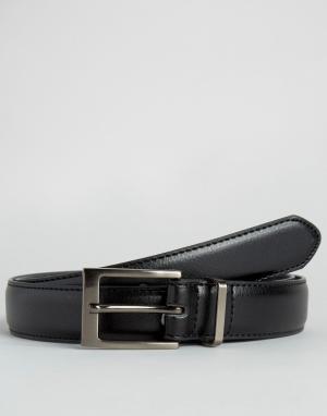 New Look Черный классический ремень. Цвет: черный