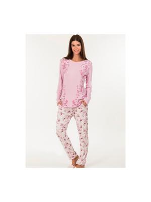 Пижама Kom. Цвет: розовый