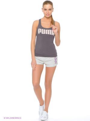 Шорты FUN HERO Shorts W Puma. Цвет: серый