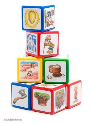 Игровой набор Кубики. Расскажи сказку Десятое королевство. Цвет: синий
