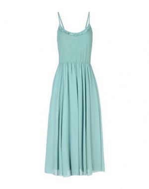 Платье до колена PAOLO CASALINI. Цвет: светло-зеленый