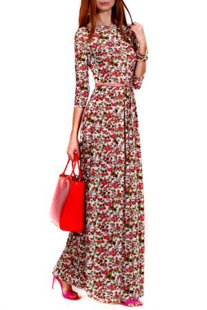 Платье FRANCESCA LUCINI. Цвет: майами
