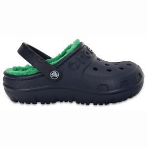 Сандалии Crocs Hilo Clog. Цвет: темно-синий/зеленый