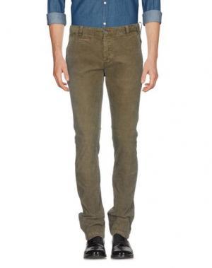 Повседневные брюки AT.P.CO. Цвет: зеленый-милитари
