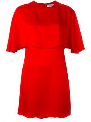 Платье кроя кейп Sonia Rykiel. Цвет: красный