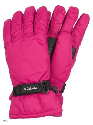 Перчатки Columbia. Цвет: красный