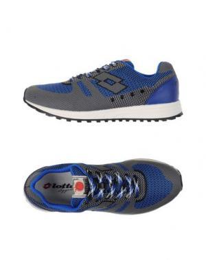 Низкие кеды и кроссовки LOTTO LEGGENDA. Цвет: ярко-синий