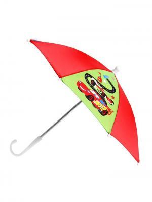 Зонт детский Самый быстрый, Тачки. Disney. Цвет: лазурный, салатовый, красный