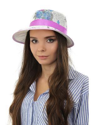 Шляпа Happy Charms Family. Цвет: белый, серый, голубой, фиолетовый