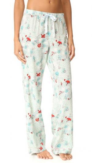 Пижамные брюки Chantal Morgan Lane. Цвет: голубой
