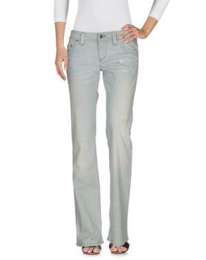 Джинсовые брюки PARASUCO CULT. Цвет: светло-зеленый