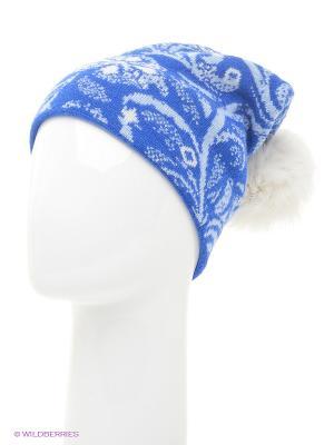 Шапка Marhatter. Цвет: индиго, серо-голубой