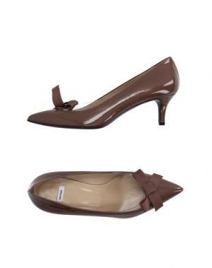Туфли NATAN. Цвет: коричневый