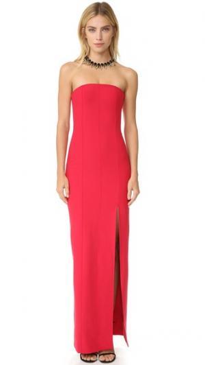 Вечернее платье Carly Elizabeth and James. Цвет: красный