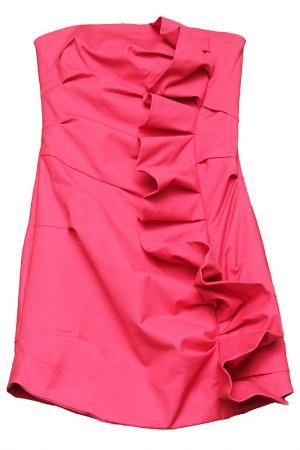 Платье CAMILLA AND MARC. Цвет: ярко-розовый