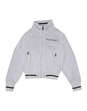 Куртка COTTON BELT. Цвет: белый