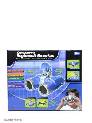 Игровой набор Суперагент. Звуковой бинокль DREAM MAKERS. Цвет: синий, черный