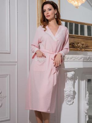 Халат MIA-DIVA. Цвет: розовый