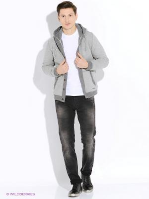 Куртка Japan Rags. Цвет: серый