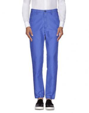 Повседневные брюки MESSAGERIE. Цвет: синий