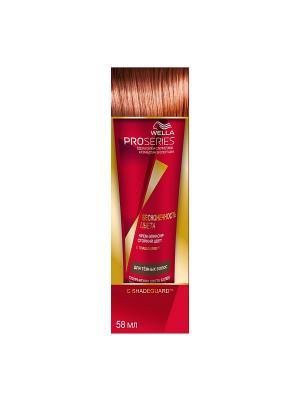 Крем-эликсир Стойкий цвет для темных окрашенных волос PRO SERIES БЕСКОНЕЧНОСТЬ ЦВЕТА 58мл WELLA. Цвет: красный