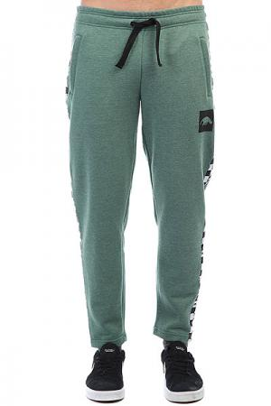 Штаны спортивные  Sweatpants Stripe Green Anteater. Цвет: зеленый