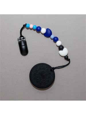 Игрушка-подвеска Краски лета. Цвет: черный, темно-синий, серо-голубой, голубой, розовый, белый