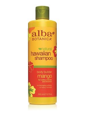 Гавайский шампунь с манго,  355 мл Alba Botanica. Цвет: прозрачный