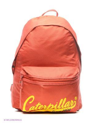 Рюкзак Caterpillar. Цвет: бордовый