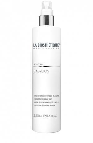 Лосьон-уход за волосами и кожей головы La Biosthetique. Цвет: бесцветный