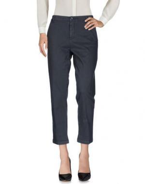 Повседневные брюки 40WEFT. Цвет: серый
