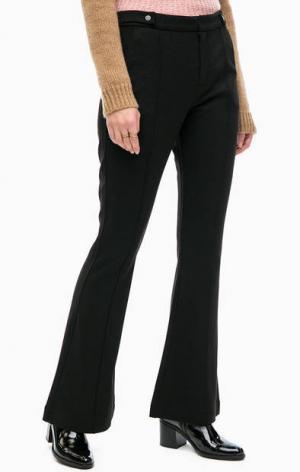 Расклешенные брюки из вискозы Scotch&Soda. Цвет: черный