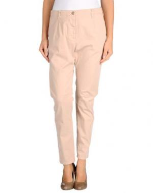 Повседневные брюки NOVEMB3R. Цвет: телесный