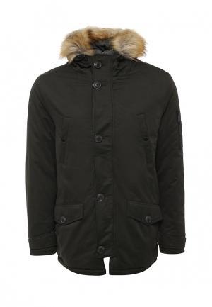 Куртка утепленная Burton Menswear London. Цвет: хаки