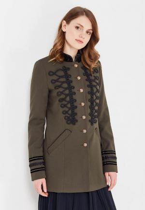 Пальто Vero Moda. Цвет: хаки