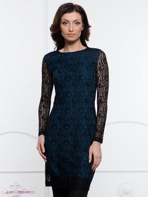 Платье Festival. Цвет: черный, темно-синий