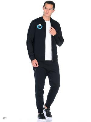 Куртка PUMA X Sesame Street Track J. Цвет: черный