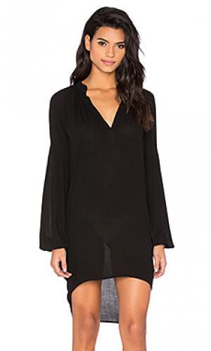 Платье the miss des barres Stillwater. Цвет: черный