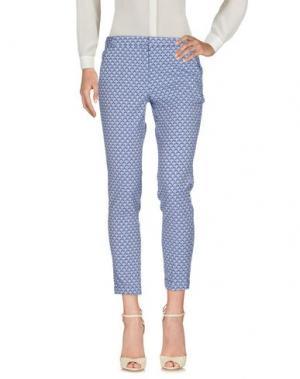 Повседневные брюки I BLUES. Цвет: пастельно-синий