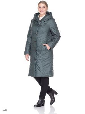 Пальто MONTSERRAT. Цвет: зеленый