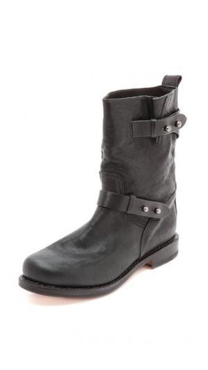 Байкерские ботинки II Rag & Bone. Цвет: голубой