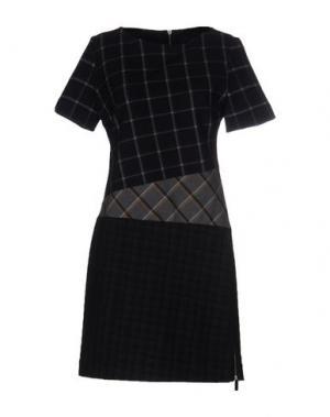 Короткое платье BAND OF OUTSIDERS. Цвет: темно-синий