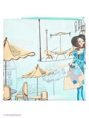 Комплект постельного белья Василек. Цвет: голубой