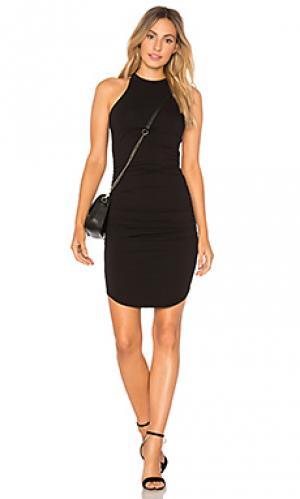 Платье-майка kravitz LA Made. Цвет: черный
