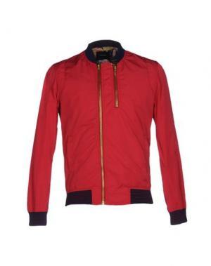 Куртка DAVID NAMAN. Цвет: пурпурный