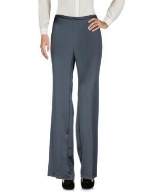 Повседневные брюки LALTRAMODA. Цвет: серый