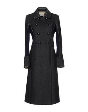 Пальто AQUILANO-RIMONDI. Цвет: свинцово-серый