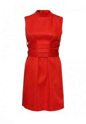 Платье SK House. Цвет: красный