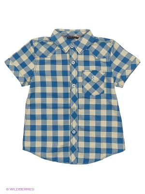 Рубашка Sisley Young. Цвет: синий