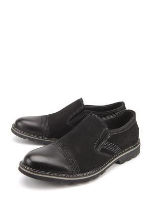 Туфли Avery. Цвет: черный